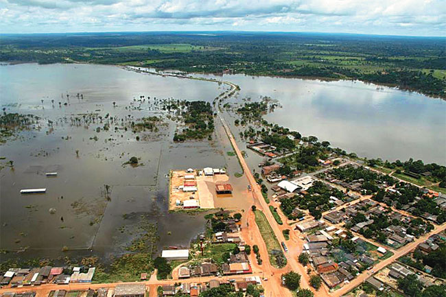 Coberturas de inundación en el seguro