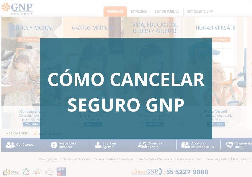 Cómo cancelar Seguro GNP