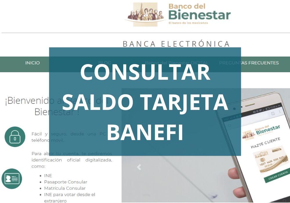 Cómo consultar saldo de tu tarjeta Bansefi