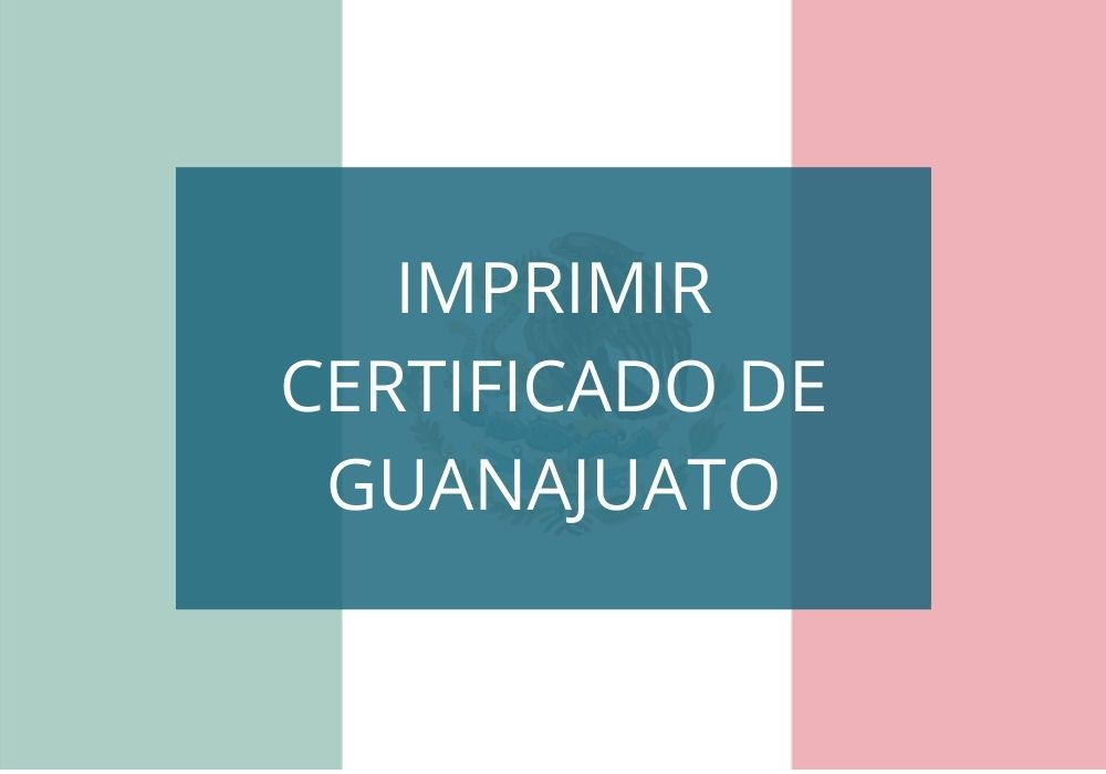 Descargar Certificado de secundaria GTO en línea